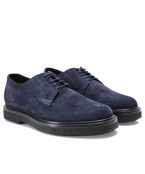 Geox Suede Broderik Shoes