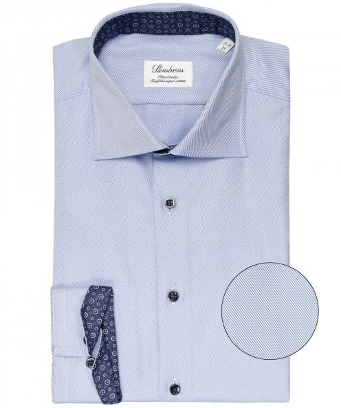 Stenstroms Fitted Body Twill Shirt