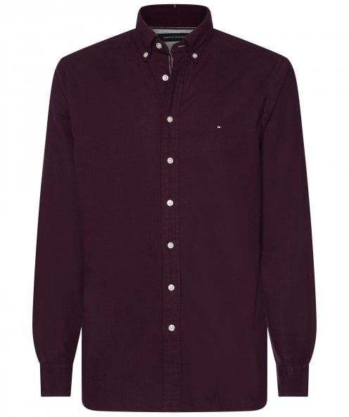 Tommy Hilfiger Regular Fit Flex Herringbone Shirt