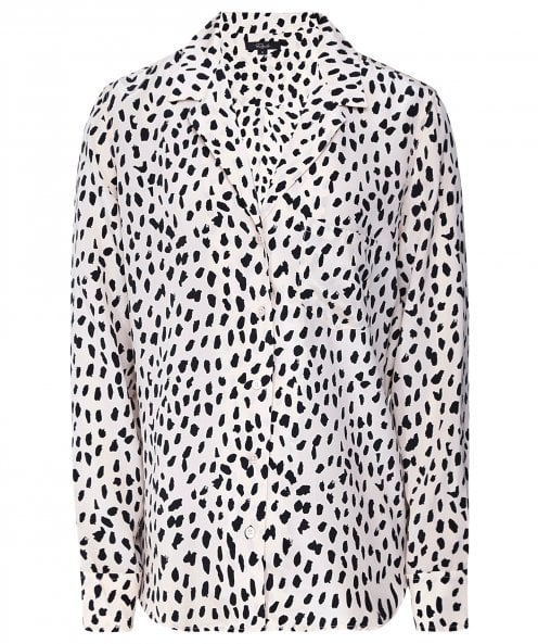 Rails Rebel Silk Spotted Shirt