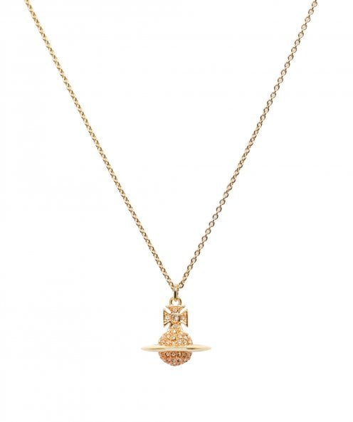 Vivienne Westwood Accessories Lena Small Orb Pendant Necklace