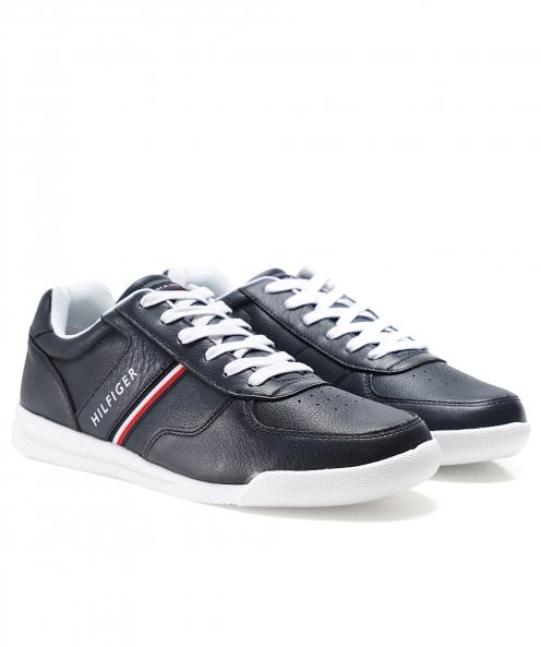 Tommy Hilfiger Lightweight Leather Trainers
