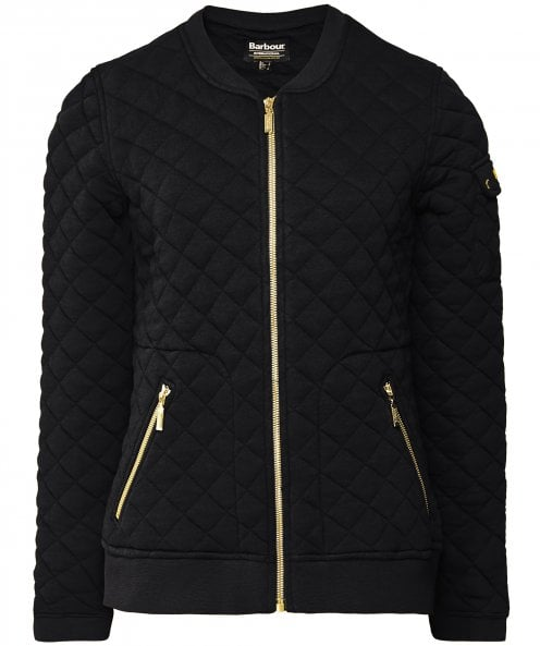 Barbour International Ballig Quilted Bomber Jacket
