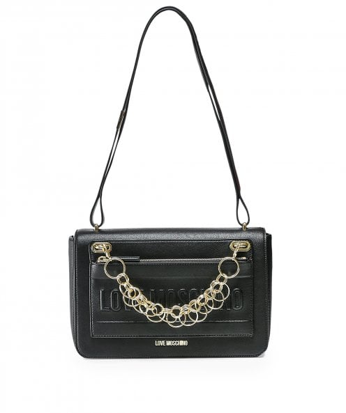 Moschino Love Moschino Chain Detail Shoulder Bag