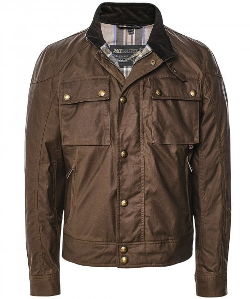 Belstaff Waxed Cotton Racemaster Jacket