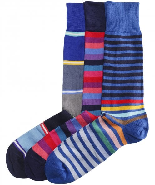 Paul Smith Three Pack of Patterned Socks
