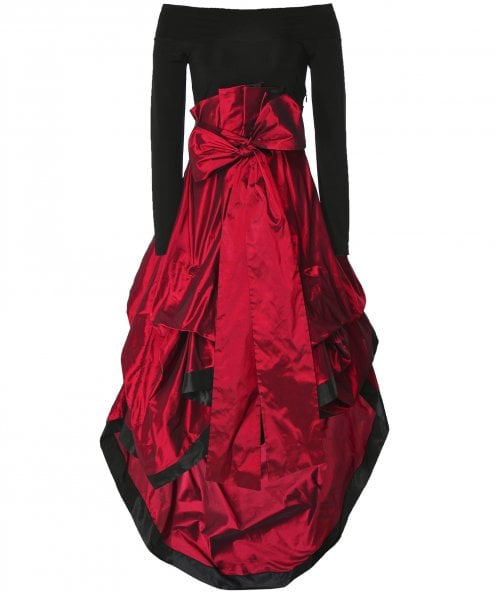 Xenia Design Tiered Taffeta Geram7 Dress