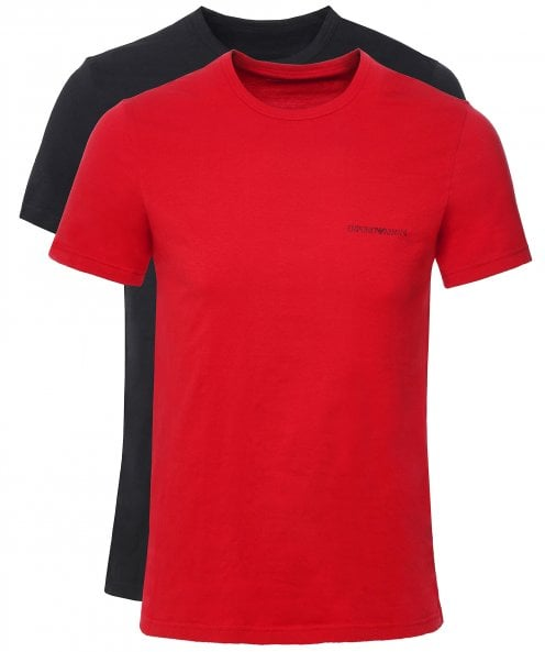 Armani Crew Neck T-Shirt Two Pack