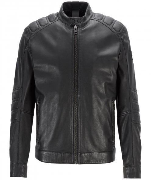 BOSS Leather Jagson2 Jacket