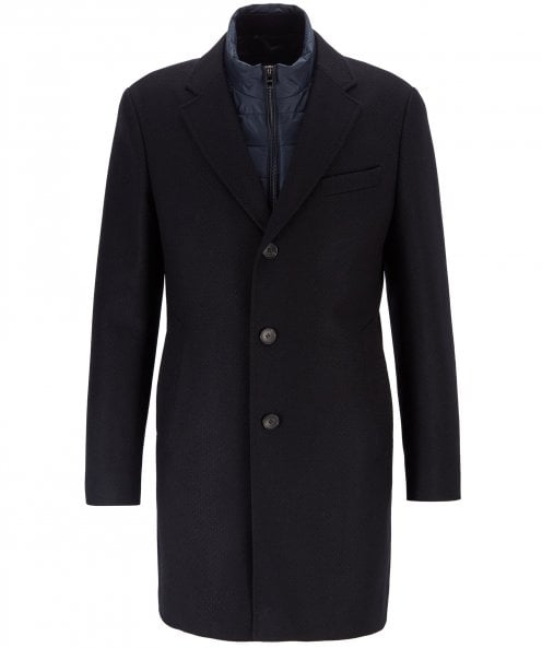 BOSS Wool Blend Nadim4 Coat