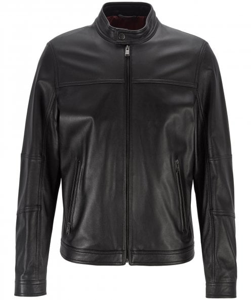 BOSS Leather Nestem Jacket