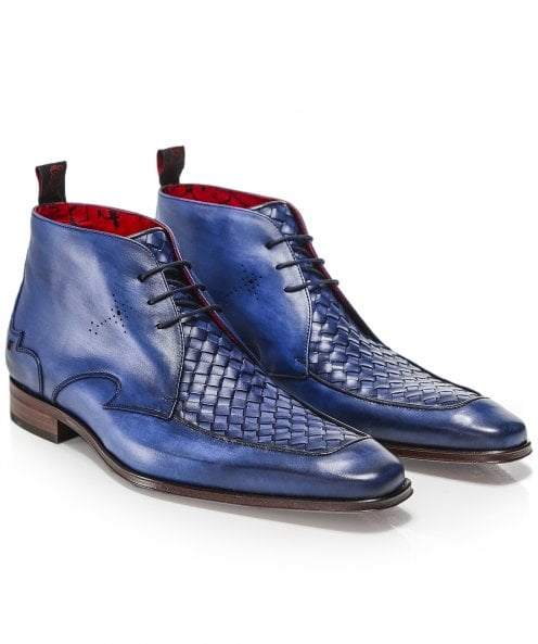 Jeffery-West Leather Scarface Chukka Boots