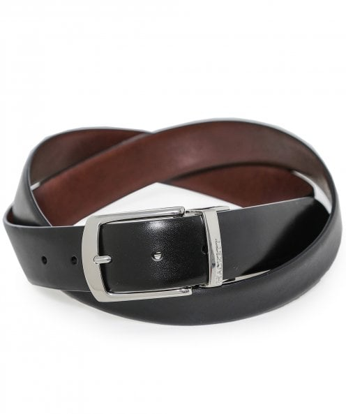 Hackett Reversible Smooth Leather Belt
