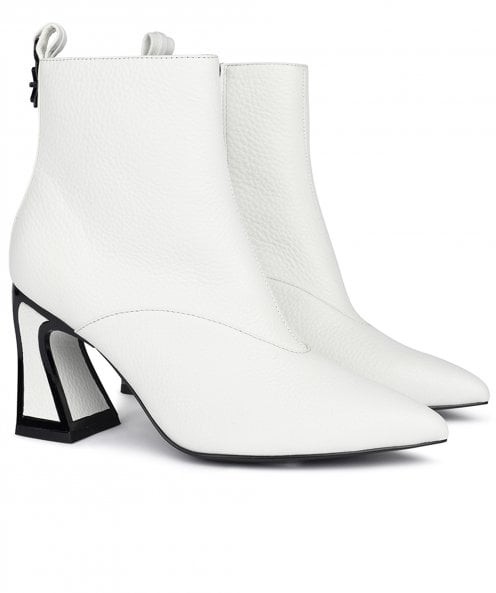 Kat Maconie Lyra Leather Ankle Boots