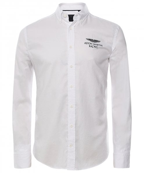 Hackett AMR Logo Oxford Shirt