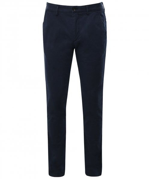 Hackett Slim Fit Garment Dyed Twill Trousers