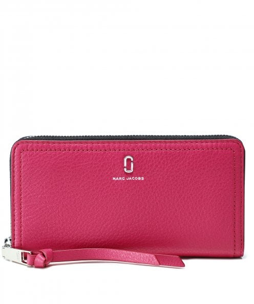 Marc Jacobs The Softshot Standard Continental Leather Wallet