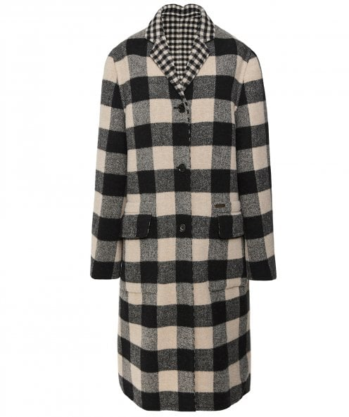 Belstaff Rona Reversible Wool Blend Coat