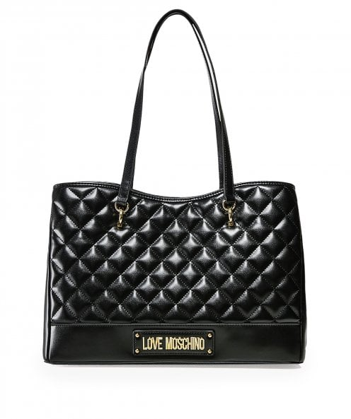 Moschino Love Moschino Quilted Shopper Bag