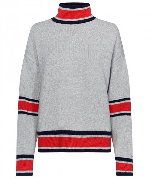 Tommy Hilfiger Margaux Mock Neck Jumper
