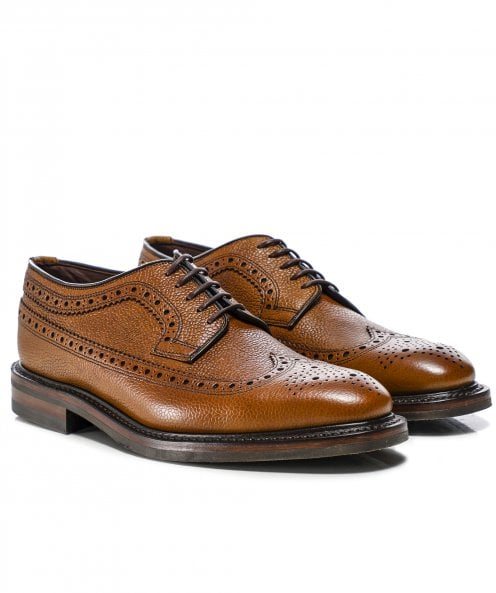 Loake Leather Birkdale Derby Brogues