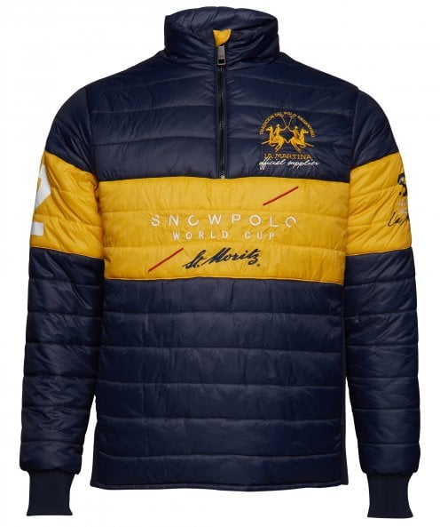 La Martina Lightweight Quilted Ossuccio Jacket