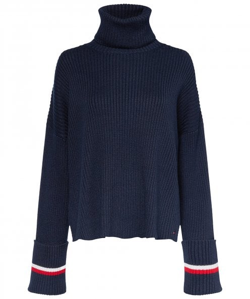 Tommy Hilfiger Hasel Roll Neck Jumper