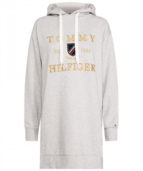 Tommy Hilfiger Kristal Embroidered Logo Long Hoodie