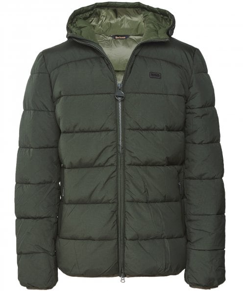 Barbour International Down Quilted Court Jacket
