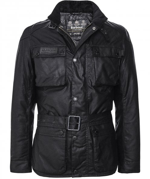 Barbour International Waxed Blackwell Jacket