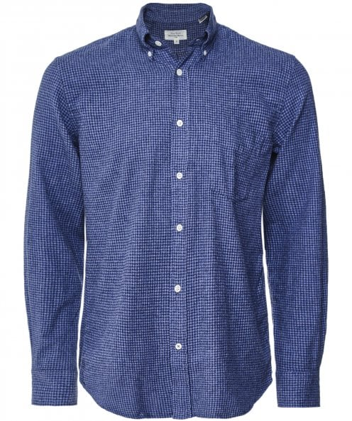 Hartford Cotton Flannel Gingham Pal Shirt
