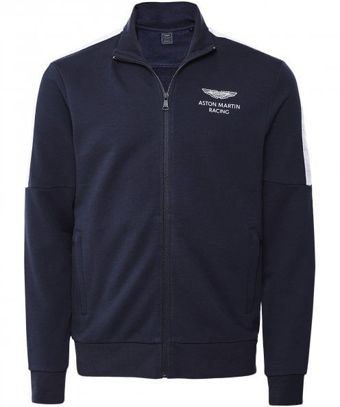 Hackett Aston Martin Racing AMR Zip-Through Sweatshirt