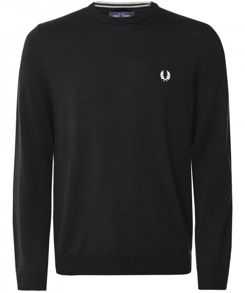 Fred Perry Classic Merino Crew Neck Jumper K7601 102