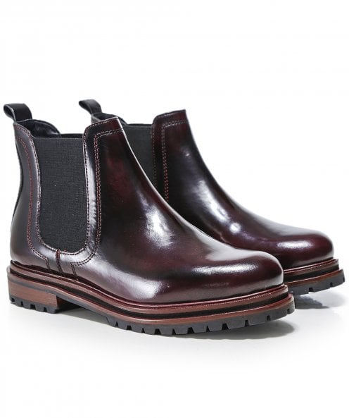 Hudson London Wisty Patent Leather Chelsea Boots