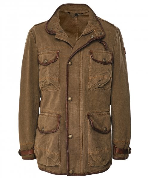 Belstaff Cotton Canvas Journey Jacket
