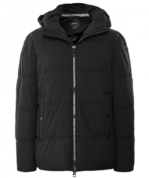 Geox Water-Repellent Quilted Broderick Jacket