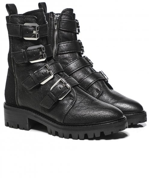 Dolce Vita Gaven Leather Lug Boots