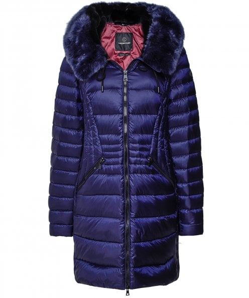 Creenstone Faux Fur Elena Quilted Jacket