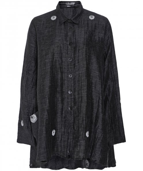 Ralston Wally Scribble Print Oversized Shirt