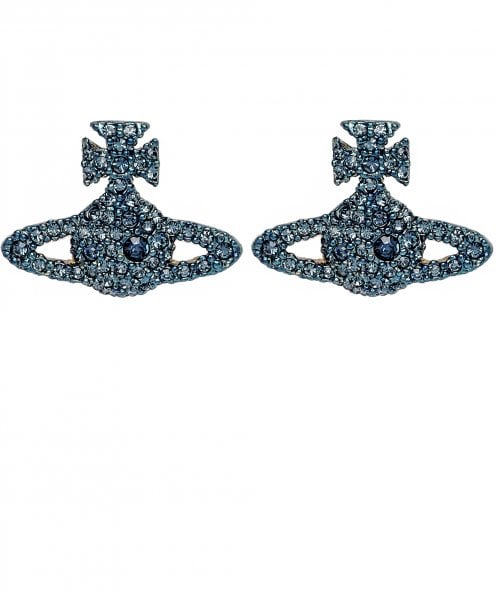 Vivienne Westwood Accessories Grace Bas Relief Stud Earrings