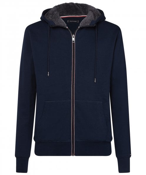 Tommy Hilfiger Faux Fur Lined Zip-Through Hoodie