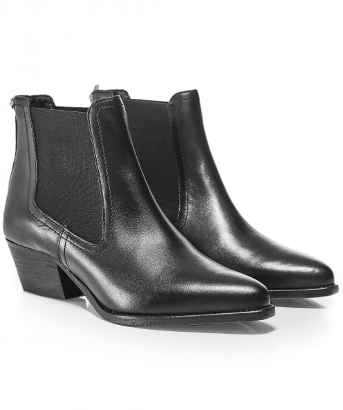 Hudson London Avery Leather Chelsea Boots