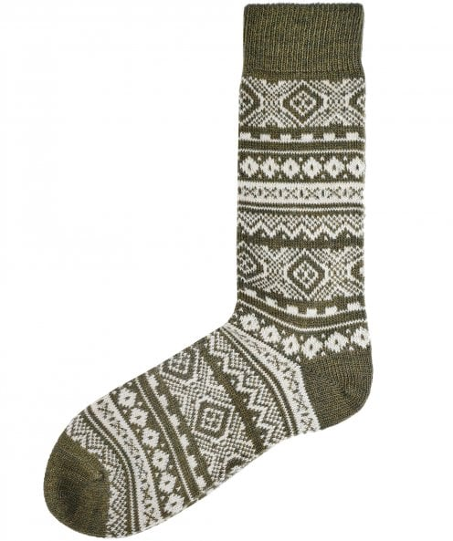 Barbour Fair Isle Onso Socks