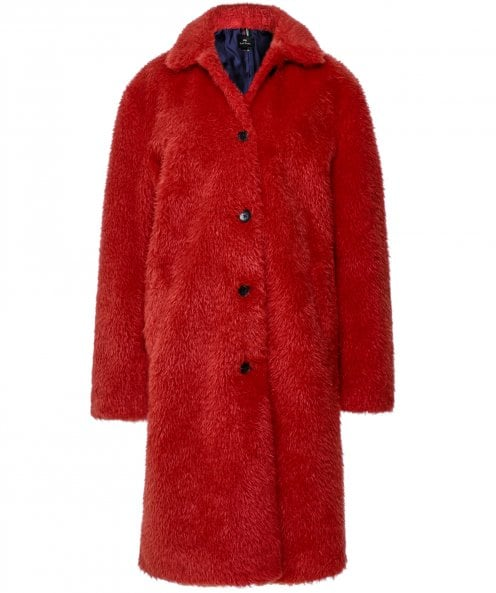 Paul Smith Teddy Bear Cocoon Coat