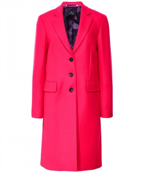 Paul Smith Wool and Cashmere Blend Epsom Coat
