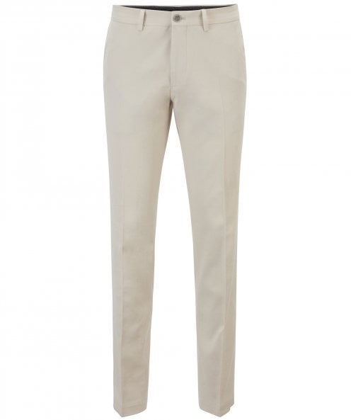 BOSS Extra Slim Fit Washed Cotton Wylson-W Trousers