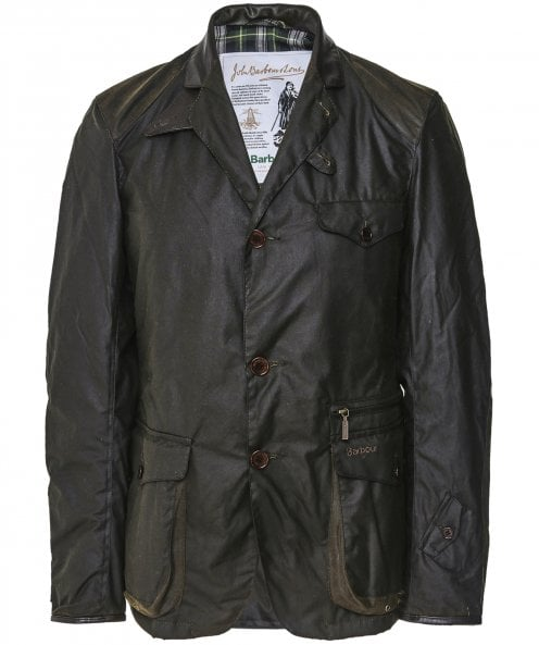 Barbour Waxed Beacon Sports Jacket