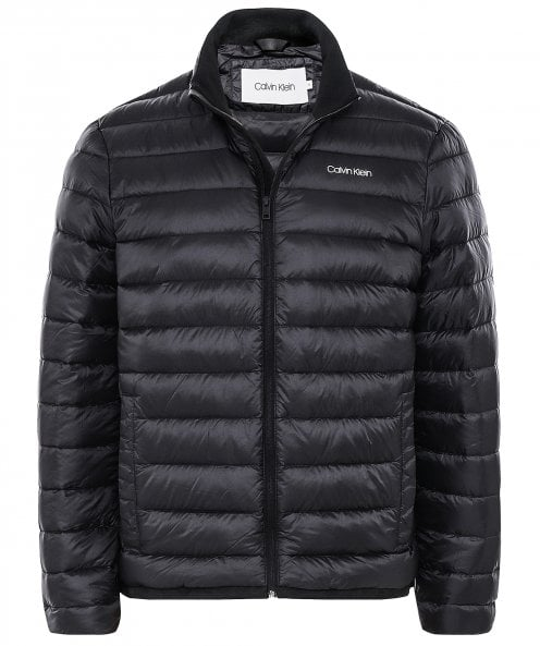 Calvin Klein Down Quilted Bomber Jacket