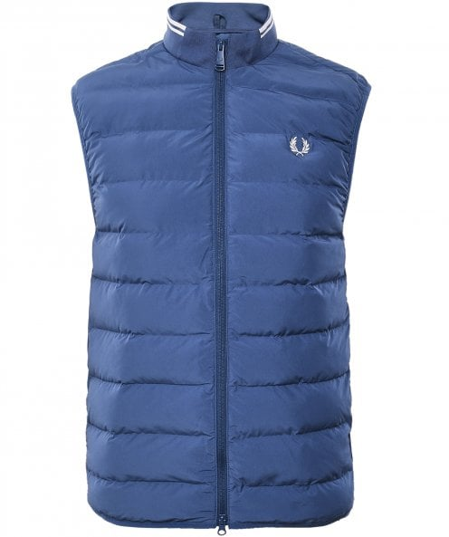 Fred Perry Quilted Insulated Gilet J7507 963
