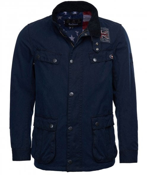 Barbour International Washed Wax Lester Jacket